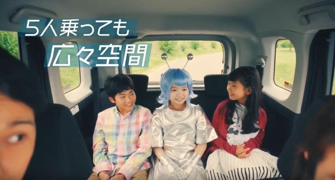 トヨタ・ルーミー&タンク CM
